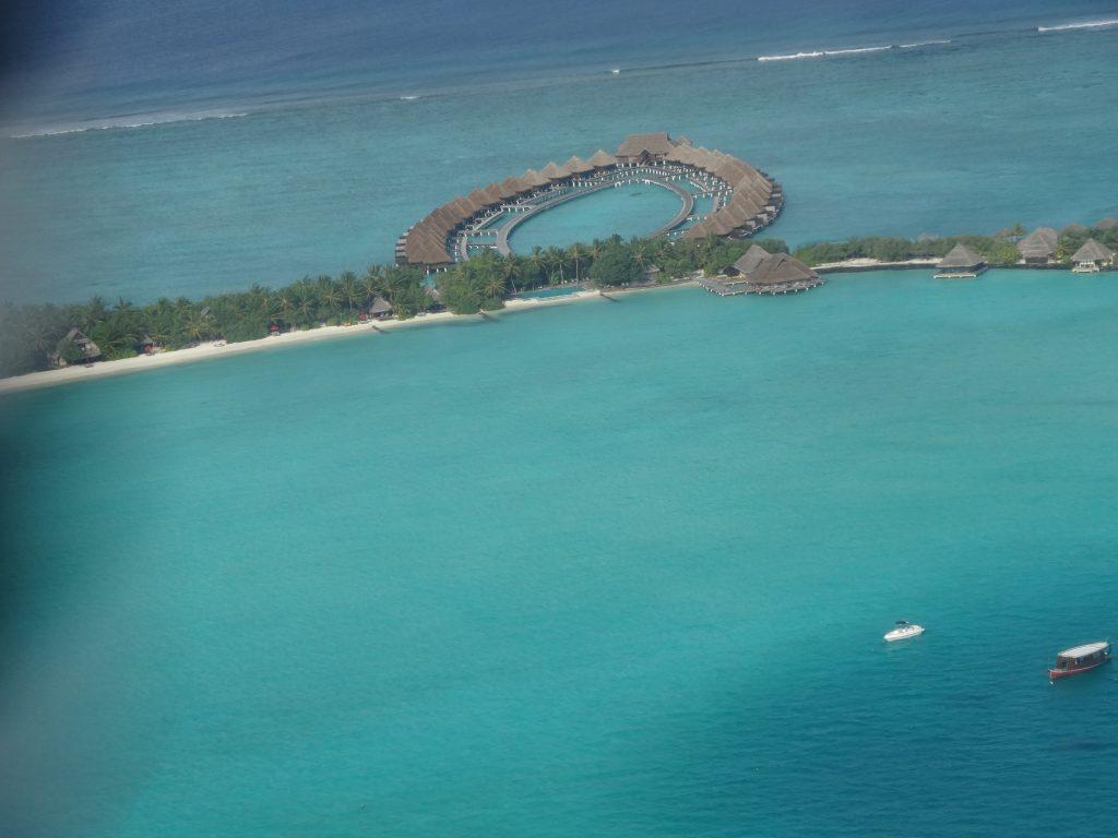 リゾートも水上飛行機から見られます
