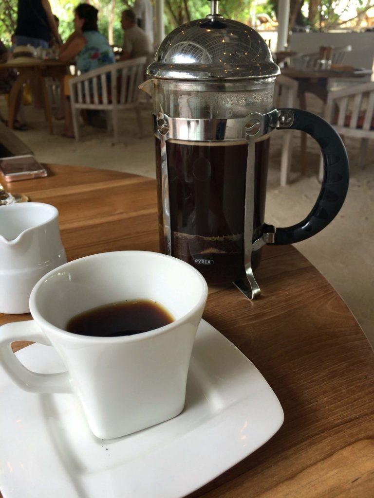 MIXEのコーヒー
