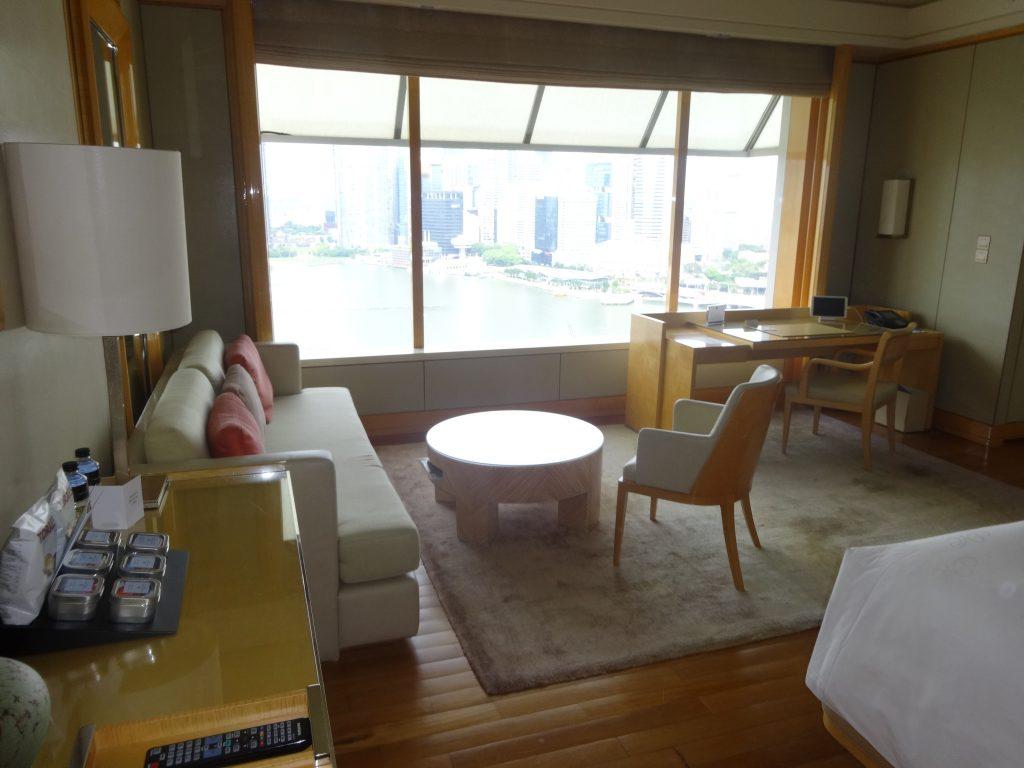 リッツカールトンの客室
